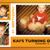 Custom Birthday Announcements and Invitation