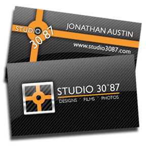 Studio 3087 Business Card