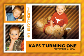 Kai's Turning One